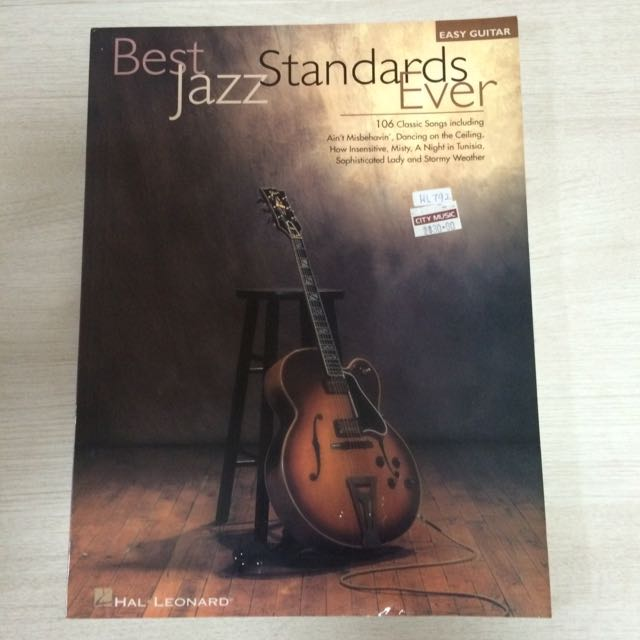 Best Jazz Standard Song Book With Tabs And Score
