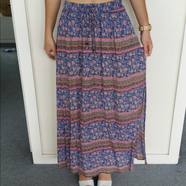 Bohemian skirt Size 8