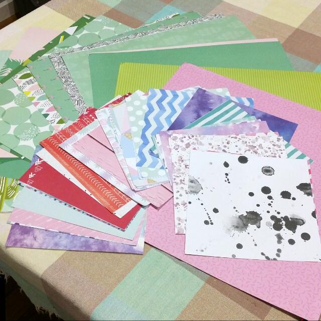 Bulk Scrapbook Paper