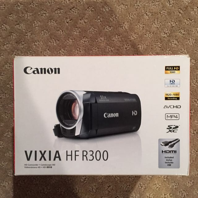 Canon HD Camcorder. Literally Only Been Used 3 Times. Perfect Condition. Comes With All Accessories That Originally Came In The Box And Much Of Which Is Still In Original Packaging. Also Includes Carrying Case Which Is In Perfect Condition.