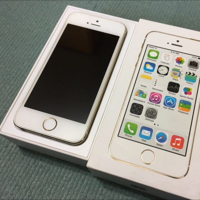 Iphone 5s 16G 金色 二手 手機