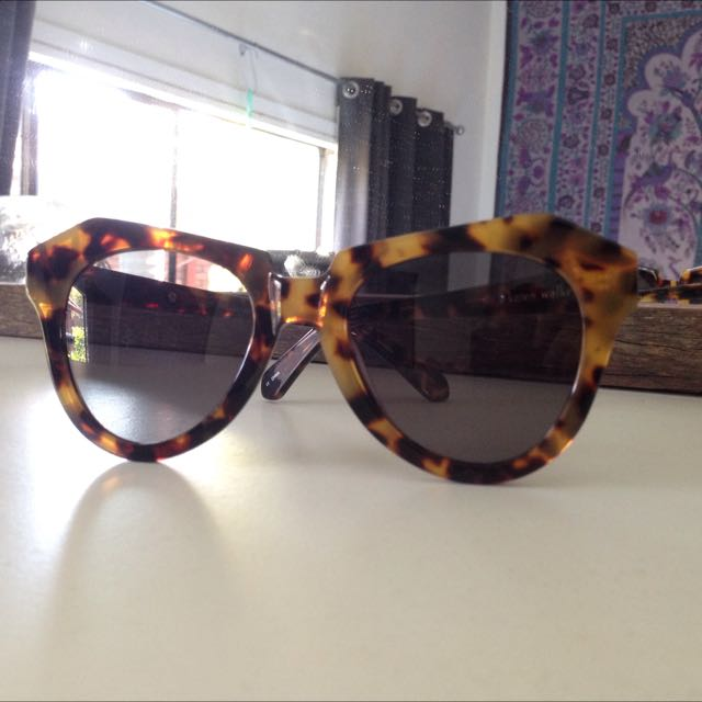 Karen Walker 'Number One' Tortoiseshell Sunglasses
