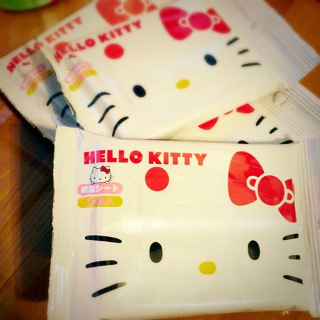 Kitty控!這裡這裡啦📢📢隨身濕紙巾