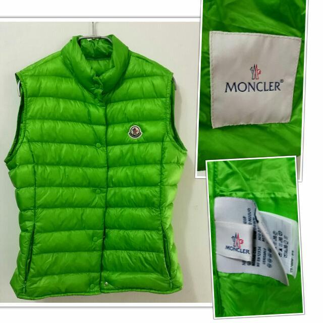 ❤雅虎拍賣售出❤世界最頂級法國MONCLER 羽絨背心無袖外套夾克