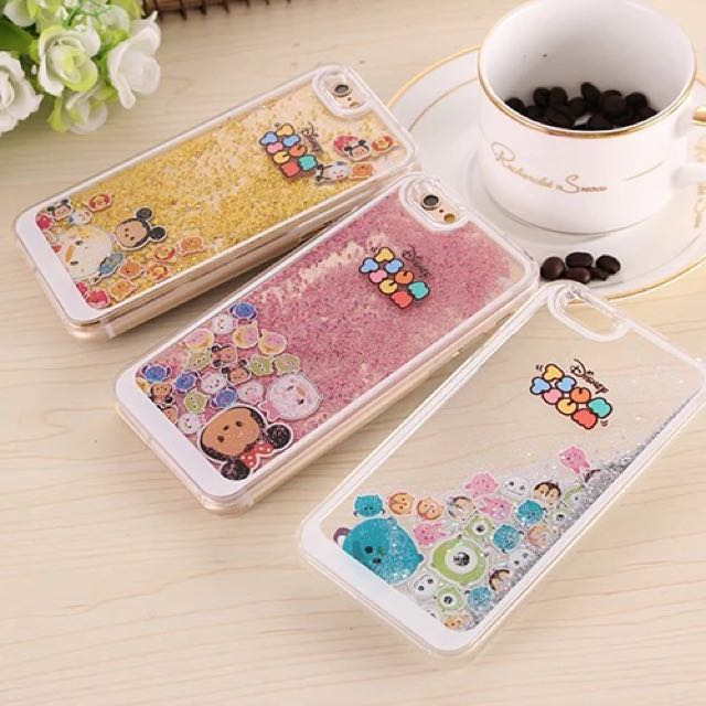 the best attitude c78d9 63f2e [PRE-ORDER] Disney Tsum Tsum Glitter Case / Cover (iPhone 6 / 6s / Plus)