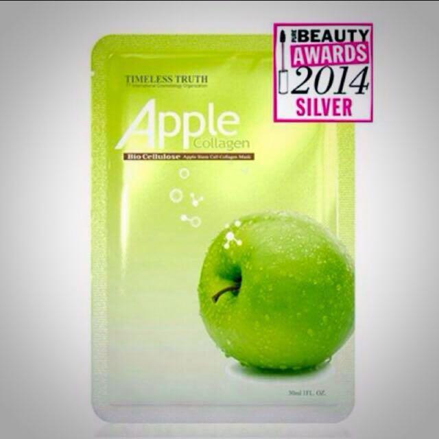 TT 蘋果修護生物纖維面膜-外文版