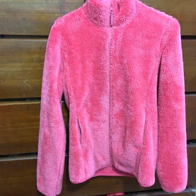 Uniqlo全刷毛保暖外套