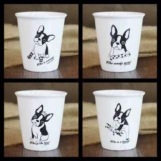 小陶瓷杯 四個一組 現貨特價中