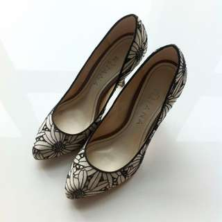 Japanese Embroidered Heels