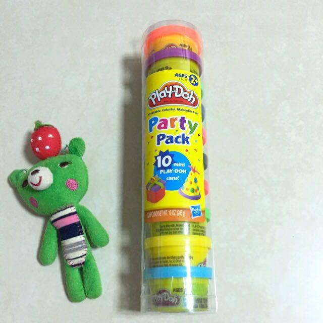 培樂多10罐派對組 黏土(含運)