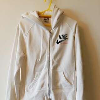 正版Nike白色外套(二手)