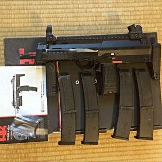KWA MP7A1 GBB 瓦斯槍 英國警察樣式 授權Cal.4.6x30(非WE VFC G&G VIPER MARUI ICS)