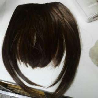 全新的瀏海假髮片