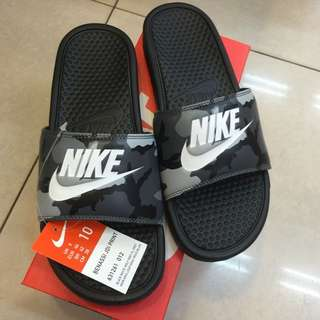 👉🏻正版👈🏻 Nike Benassi JDI Print 迷彩拖鞋