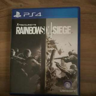 Rainbow Six Siege PS4(Reserved)