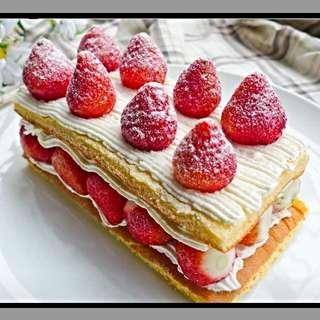 士林 宣原 原味雙層草莓蛋糕🍓