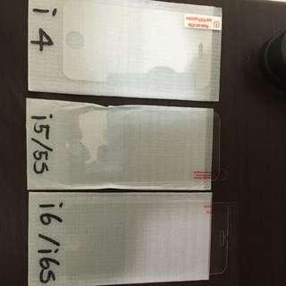 I Phone 鋼化玻璃膜i4/i5/i6/plus