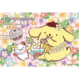【拼圖LocalKing】〝現貨〞日本拼圖 108片拼圖 三麗鷗拼圖 布丁狗 布丁狗吃甜點 BVM108-165