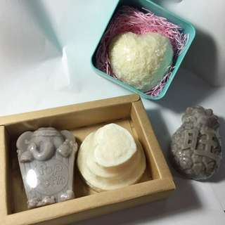 手工🖐🏼紫草母乳皂