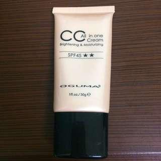 OGUMA 三合一水感cc霜(有盒)