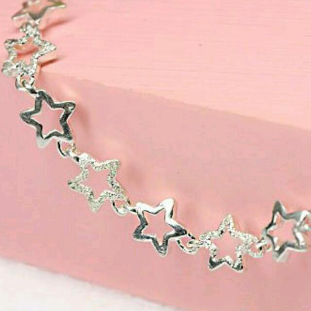 🎉可議純銀星星手環🎉
