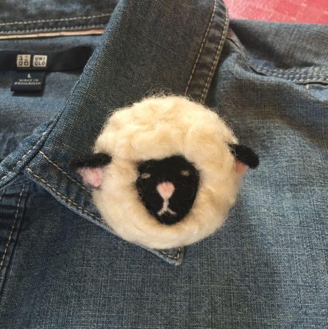 純手工羊毛氈別針