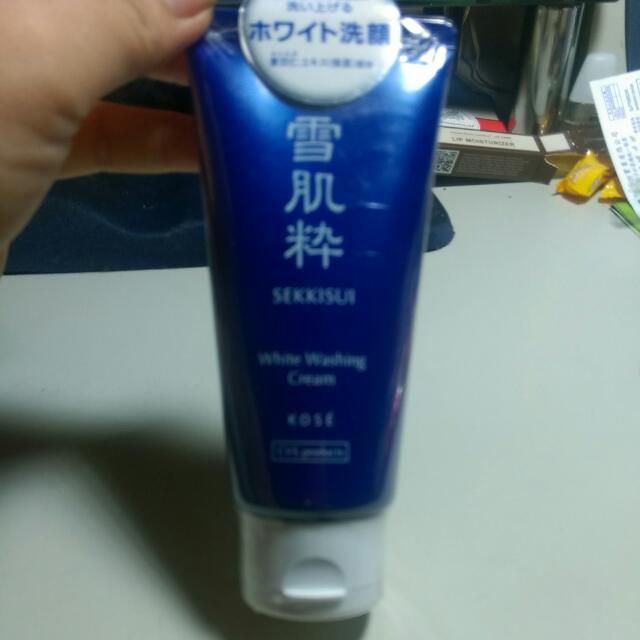 『免運』日本雪肌粹洗面乳