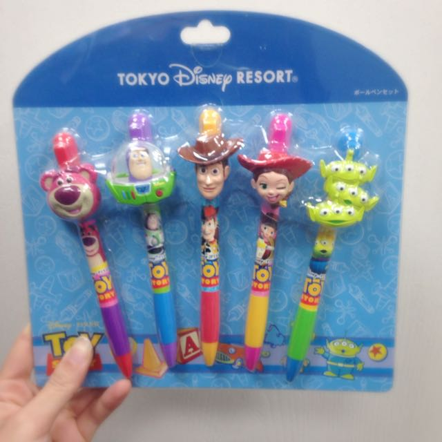 迪士尼 玩具總動員 原子筆