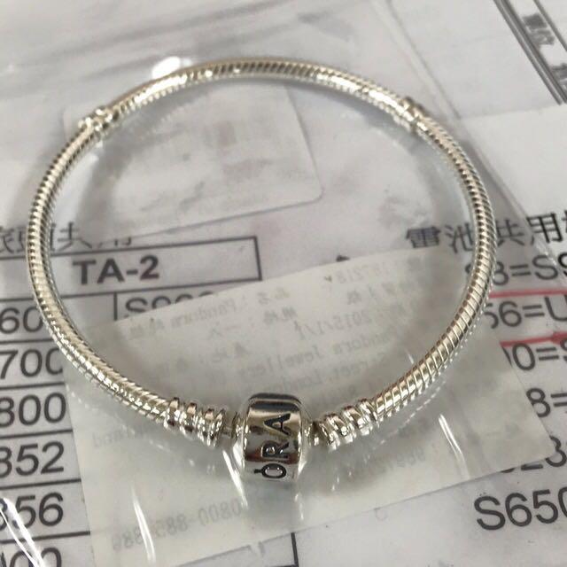 全新 Pandora 18cm 手環 聖誕節
