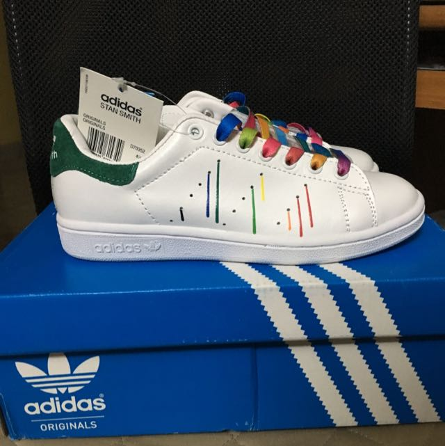 the latest 2c407 90d92 Adidas Stan Smith Pride Pack, Everything Else on Carousell