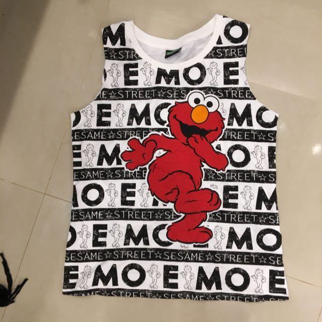 全新Elmo 背心 S號