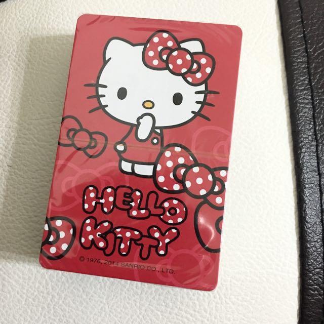 Kitty 撲克牌😍