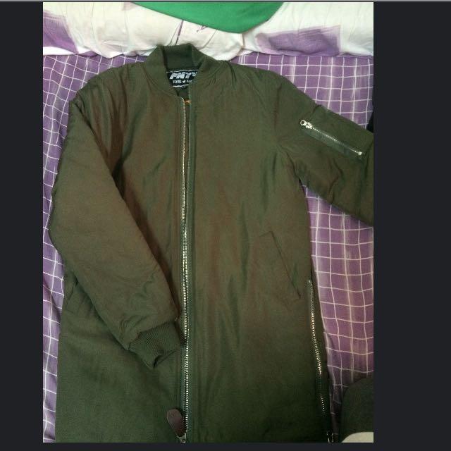 長版MA1飛行外套