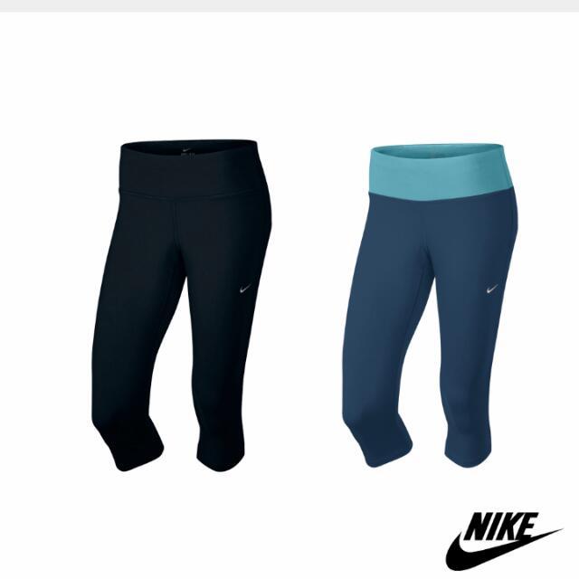 Nike Dri-fit 七分跑褲 緊身褲 壓力褲 跑步
