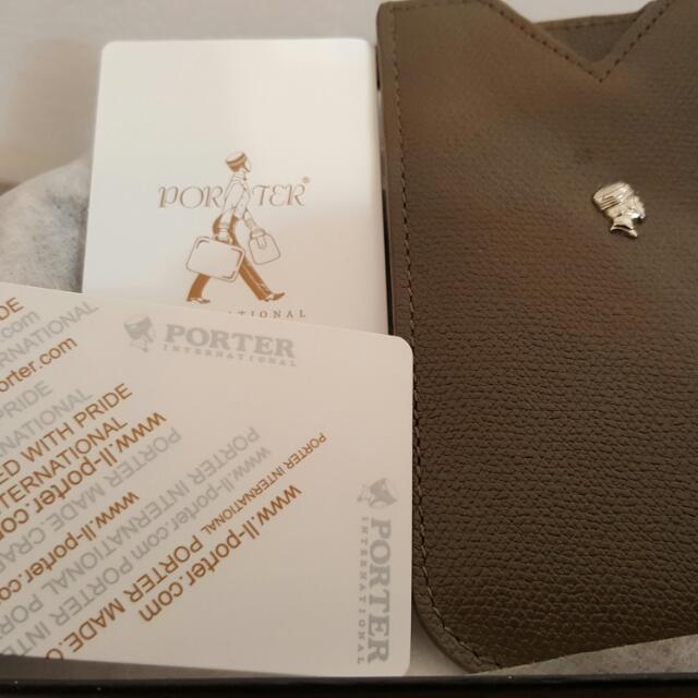 porter包,(手機套,票夾套)前女友送的,搬家時找到