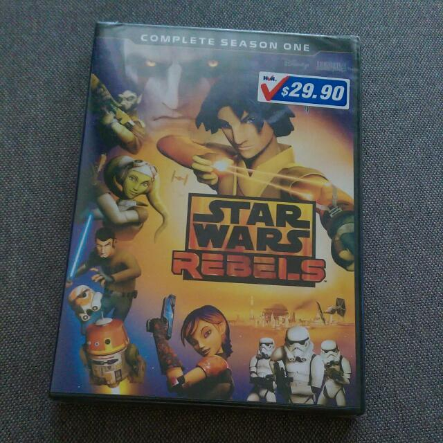 Star Wars Rebels DVD Complete Season One