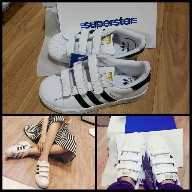 韓國代購,Superstar 金標童鞋