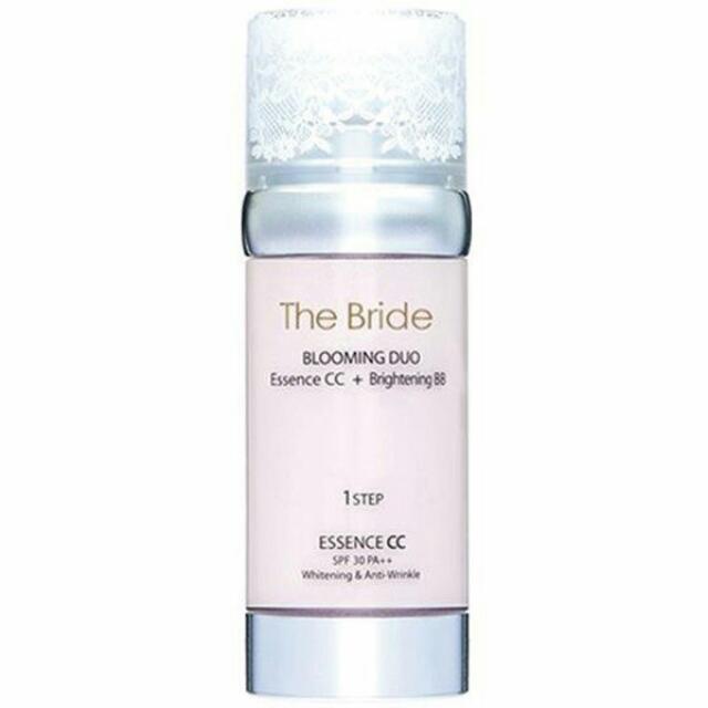 韓國The Bride 花漾 雙效精華BB+CC霜 35g+35g 雙管設