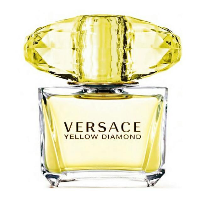 [全新未拆]Versace凡賽斯 香愛黃鑽女性淡香水(50ml)