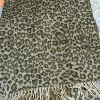 🎀豹紋圍巾