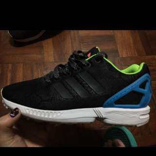 Adidas Zxflux 蛇紋反光