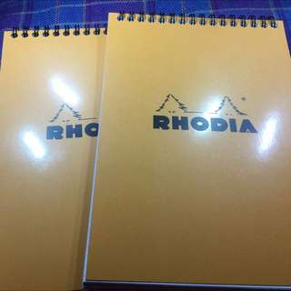 Rhodia Notepad A5 For Fountain Pen