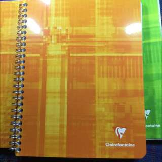 Clairefontaine A5 Notebook For Fountain Pen (reserved)