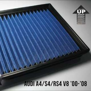 Shop now: htAUDI A4/ S4/ RS4 V8 2000 - 2008 Works Engineering Drop In Air Filter