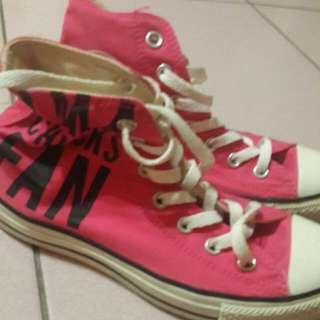 🚚 All Star桃色帆布鞋
