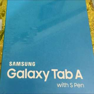 Samsung Tab A With S-pen