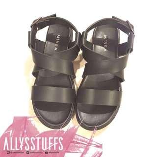 [NEW] MINKASHOES - Freja (Black) Size 38