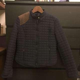 韓國購入鋪棉補釘女外套