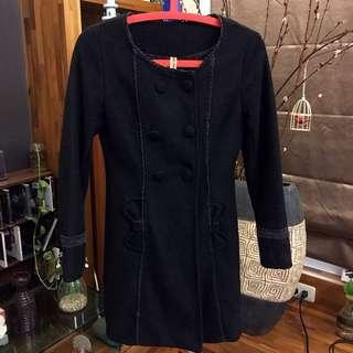 超美版型冬季大衣(黑)