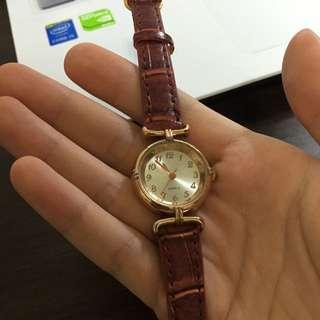 (免運)玫瑰金手錶